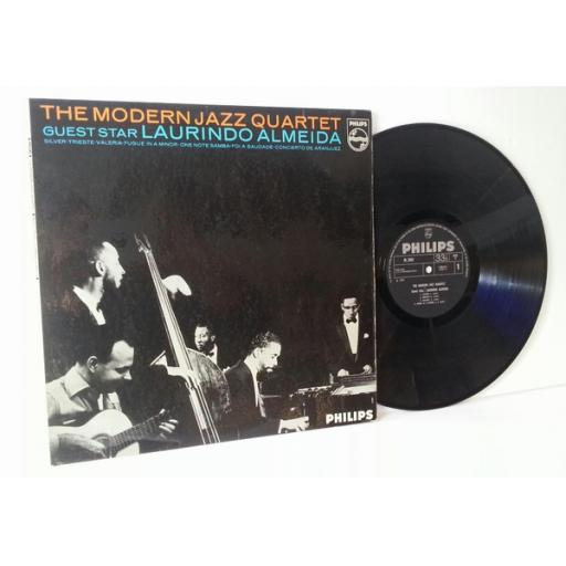 The Modern Jazz Quartet guest star Laurindo Almeida [Vinyl]