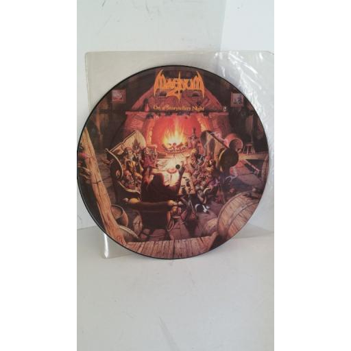 MAGNUM on a storytellers night, 12 inch picture disc, WKFM PD 34