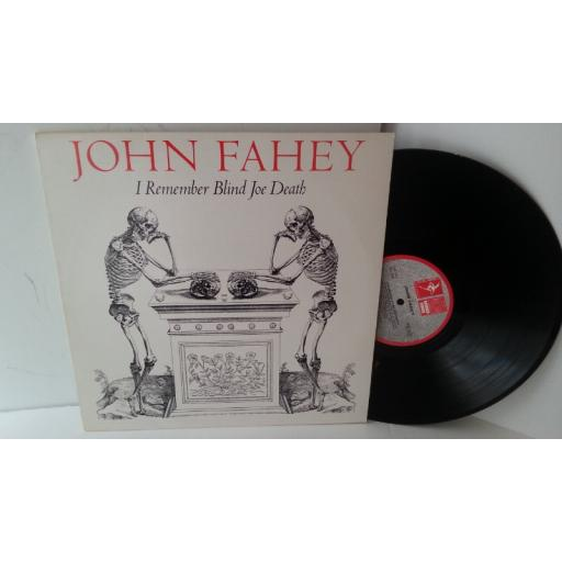 JOHN FAHEY i remember blind joe death, REU 1025