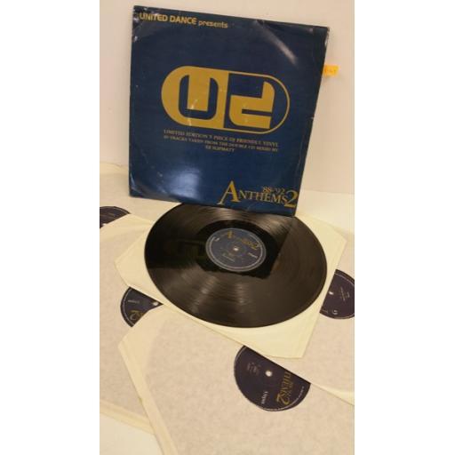THE SOURCE, MOBY, DJ EDGE united dance presents '88-'92 anthems 2, 5 x lp, UMLP004