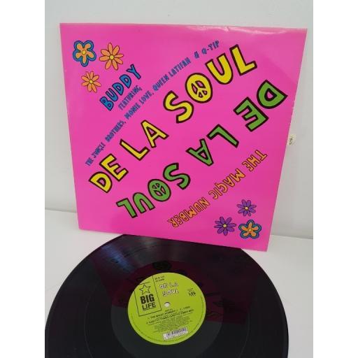 "DE LA SOUL, the magic number & buddy, BLR 14T, 12"" single"