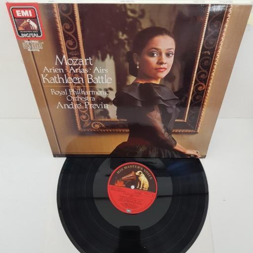 "Kathleen Battle Sings Mozart - Royal Philharmonic Orchestra / André Previn – Kathleen Battle Arien / Arias / Airs Mozart, 27 0406 1, 12"" LP"