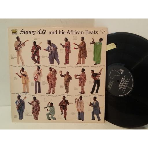 KING SUNNY ADE AND HIS AFRICAN BEATS synchro system, ILPS 9737