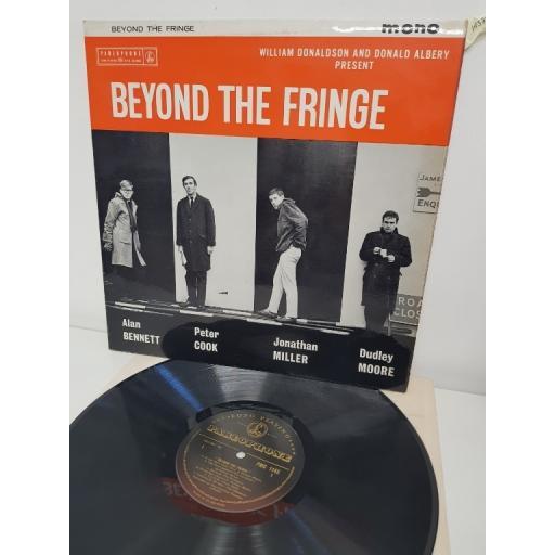 "ALAN BENNETT, PETER COOK, JONATHAN MILLER DUDLEY MOORE, beyond the fringe, PMC 1145, 12"" LP, MONO"