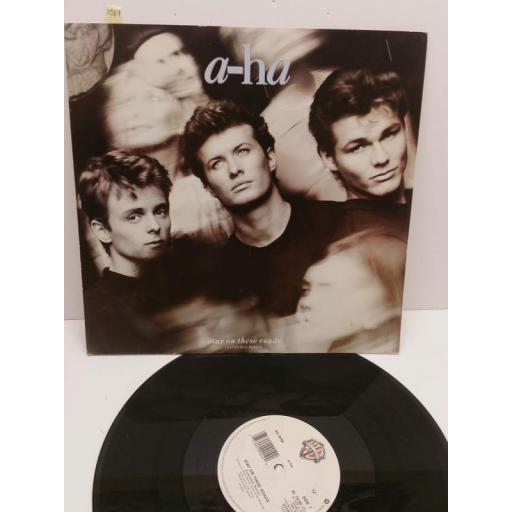"A-HA stay on these roads (extended remix) (12"" single), W7936T"