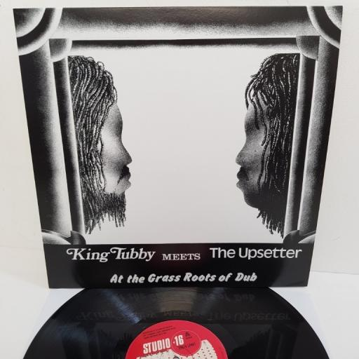 """KING TUBBY MEETS THE UPSETTER, at the grass roots of dub, STU 16LP 001, 12"""" LP"""