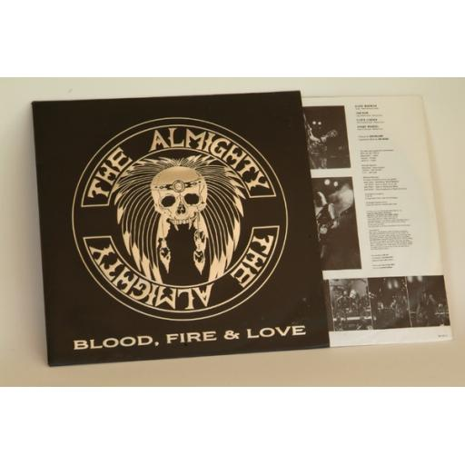 THE ALMIGHTY Blood, Fire and Love, POL281