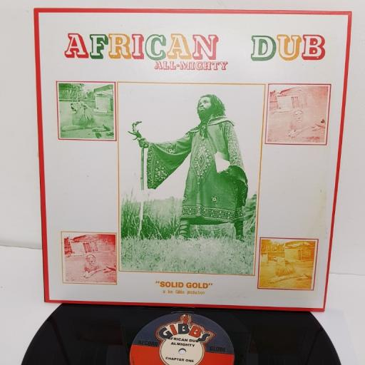 "JOE GIBBS & THE PROFESSIONALS, african dub all-mighty - chapter one, JGML-6005, 12"" LP"