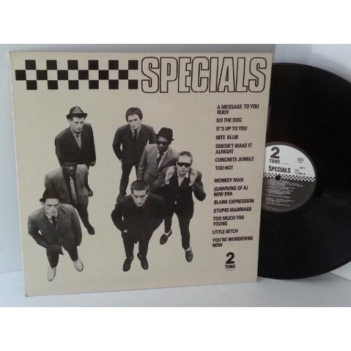 SPECIALS specials