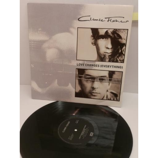 CLIMIE FISHER LOVE CHANGES (EVERYTHING). 12 inch EP. 12 EM 47