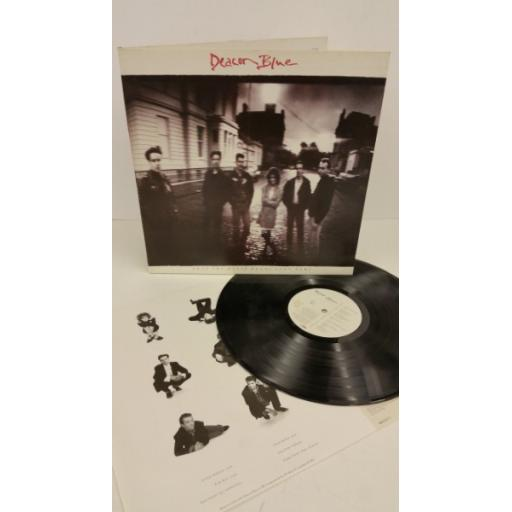 DEACON BLUE when the world knows your name, gatefold, 463321 1