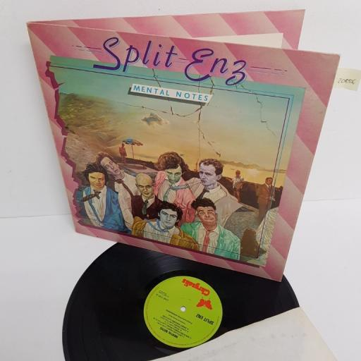 "SPLIT ENZ, mental notes, CHR 1131, 12"" LP"