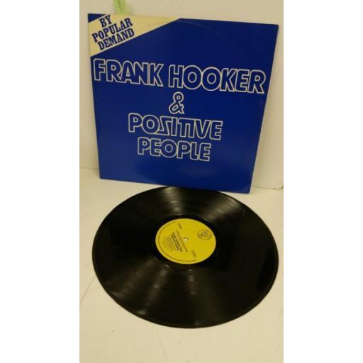 FRANK HOOKER & POSITIVE PEOPLE this feelin', 12 inch single, DJR 18012