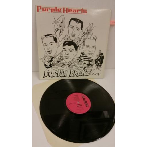 PURPLE HEARTS pop-ish frenzy, RAZ 519