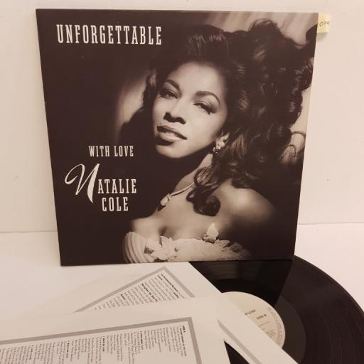 "NATALIE COLE, unforgettable with love, EKT 91, 2x12"" LP"