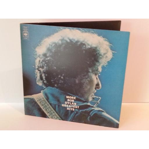 Bob Dylan MORE BOB DYLAN GREATEST HITS, 67239, double album