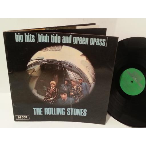 THE ROLLING STONES big hits [high tide and green grass], gatefold, TXS 101