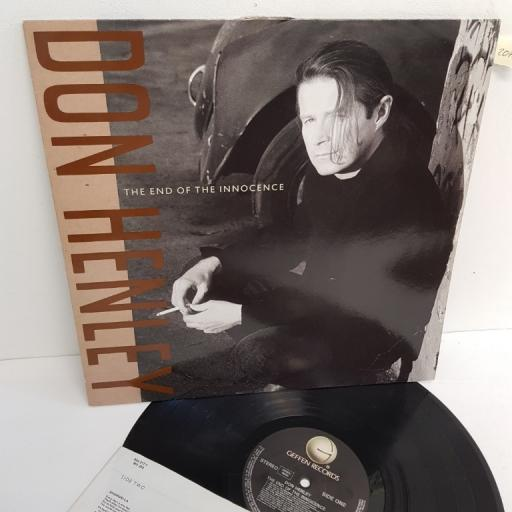 "DON HENLEY, the end of the innocence, 924 217-1, 12"" LP"