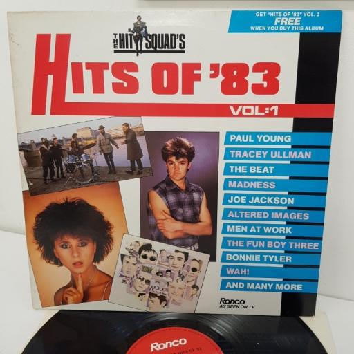 HITS OF '83 VOL. 1, RON LP4-A, 12 inch LP, compilation