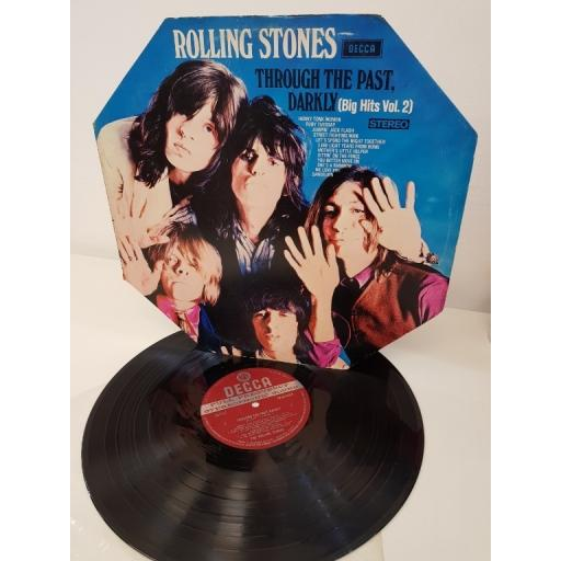 "THE ROLLING STONES, through the past, darkly, SKLA 5019, 12"" LP"