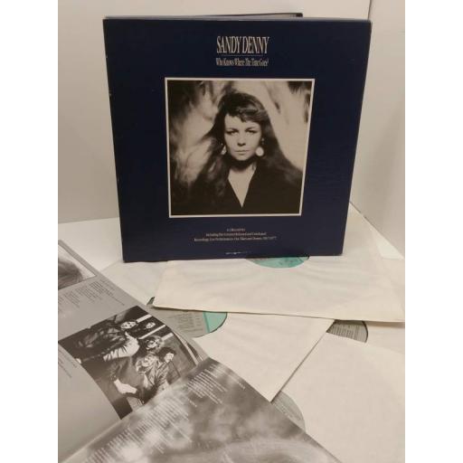 "SANDY DENNY who knows where time goes? (4 x 12"" boxset), HNBX 5301"