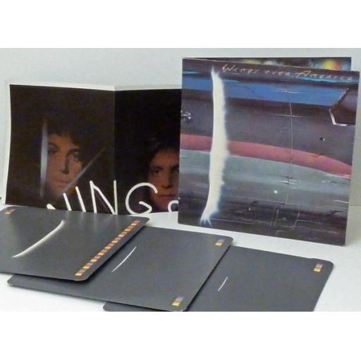 Wings over America PAUL MCCARTNEY. WINGS.