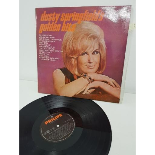 "DUSTY SPRINGFIELD, dusty springfield's golden hits, PDS 251, 12""LP"