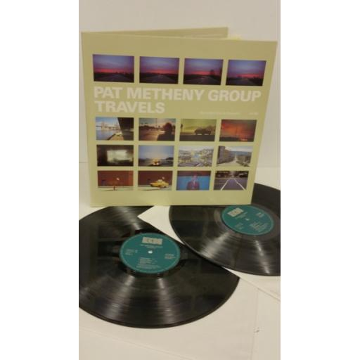 PAT METHENY GROUP travels, 2 x lp, gatefold, ECM 1252/53
