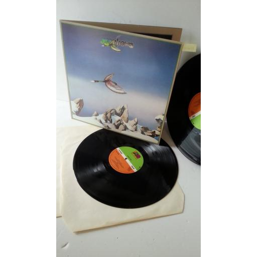 YES yesshows, gatefold, double album, K 60142