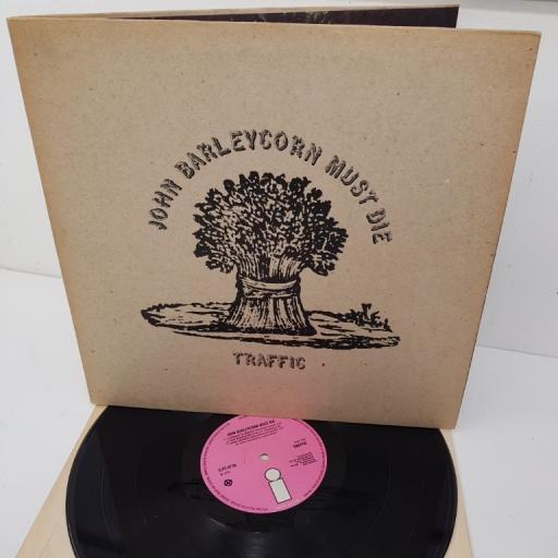 SOLD : TRAFFIC, john barleycorn must die, ILPS 9116, 12 inch LP