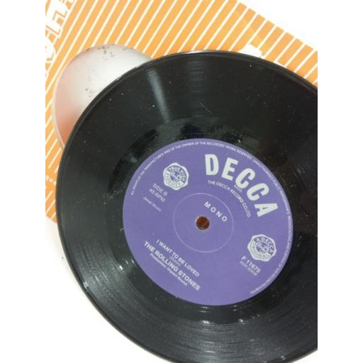THE ROLLING STONES come on, 7 inch single, F 11675
