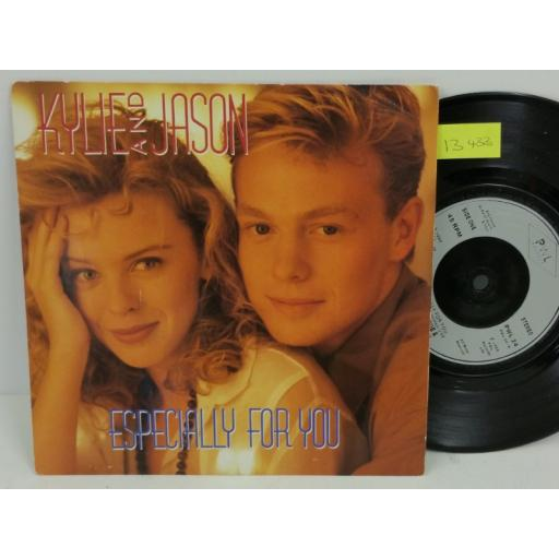 KYLIE AND JASON especially for you, PICTURE SLEEVE, 7 inch single, PWL 24