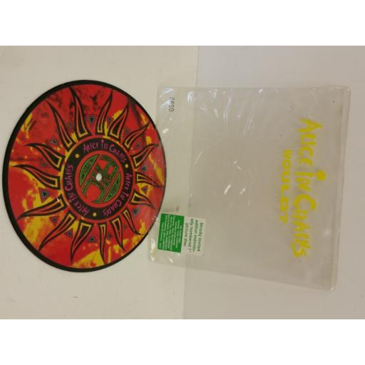 ALICE IN CHAINS would?, 7 inch single, picture disc, limited edition number: 0285, 65888 7