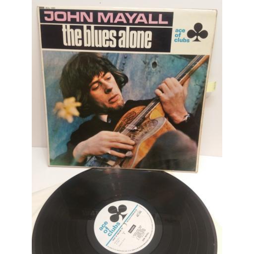 JOHN MAYALL the blues alone ACL1243