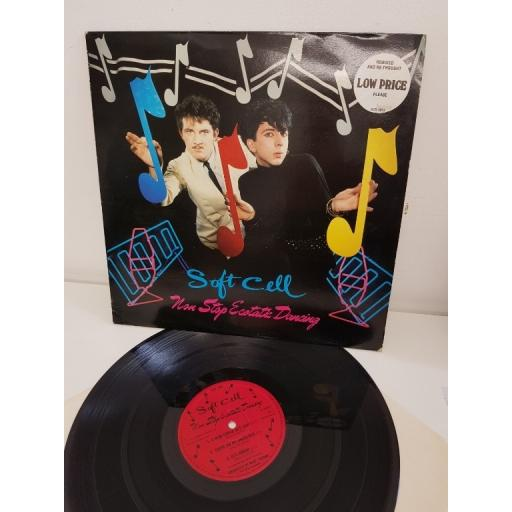 """SOFT CELL, non stop ecotatic dancing, remixed and rethough, BZX 1012, 12"""" LP"""