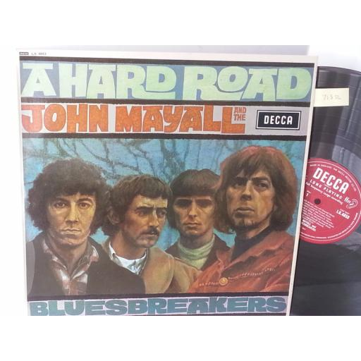 JOHN MAYALL AND THE BLUESBREAKERS a hard road, LK 4853