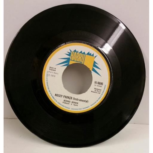 GEORGE DEKKER nosey parker, 7 inch single, HJ 6696