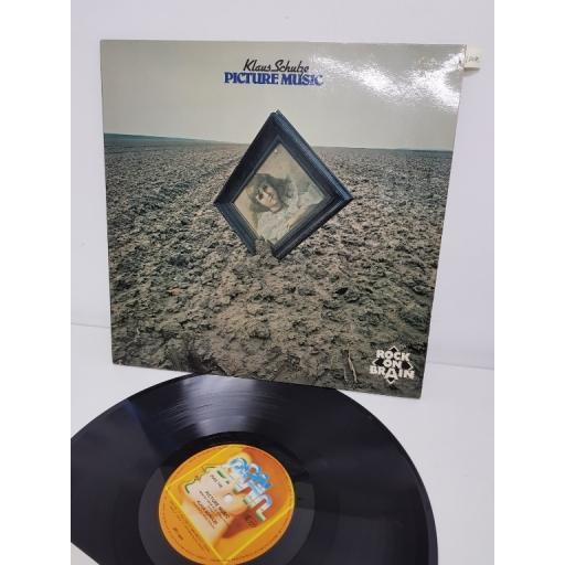 """KLAUS SCHULZE, picture music, 0040.146, 12"""" LP"""