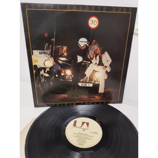 """GEORGE HATCHER BAND, talkin' turkey, UAS 30090, 12"""" LP"""