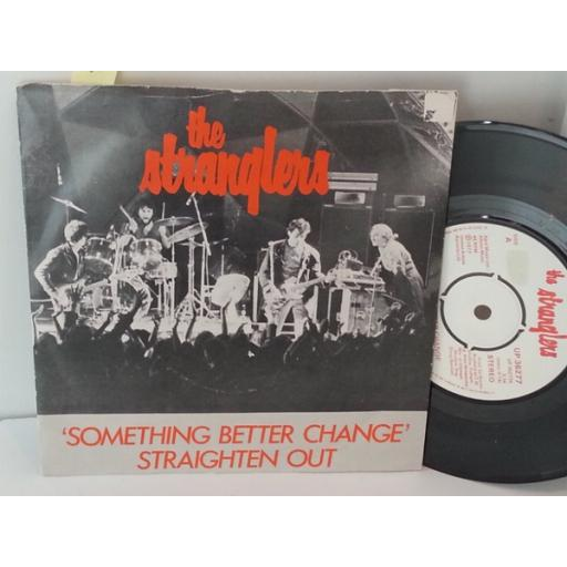 THE STRANGLERS something better change, 7 inch single, UP 36277