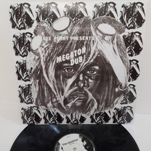 """LEE PERRY, megaton dub, Lee 201, 12"""" LP"""