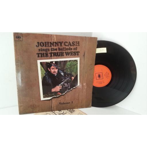 JOHNNY CASH sings the ballads of the true west volume I, 62538
