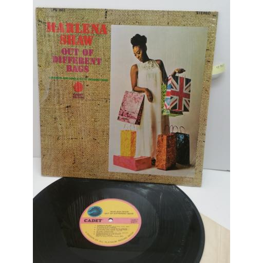 MARLENA SHAW out of different bags, LPS 803