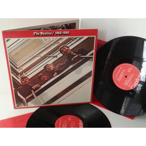 THE BEATLES 1962-1966, gatefold, double album, SKBO 3403