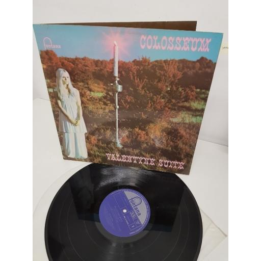 "COLOSSEUM, valentyne suite, 847 900 VTY, 12"" LP"