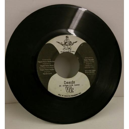 VC by his deeds, 7 inch single, DIG0001