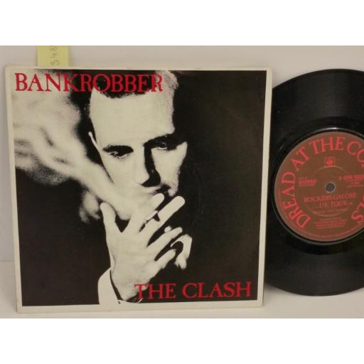 THE CLASH bankrobber, PICTURE SLEEVE, 7 inch single, 8323