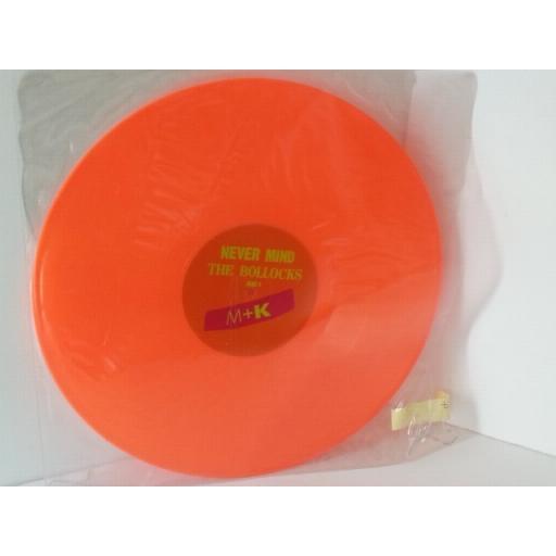 M and K rappers delight 2002 orange vinyl