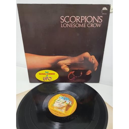 "SCORPIONS, lonesome crow, 0040.023, 12"" LP"
