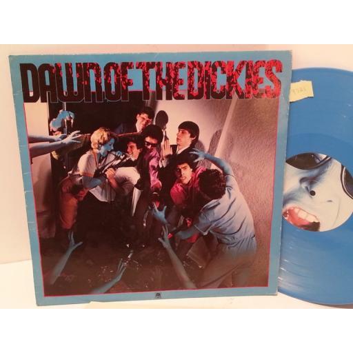 THE DICKIES dawn of the dickies BLUE VINYL, AMLE 68510